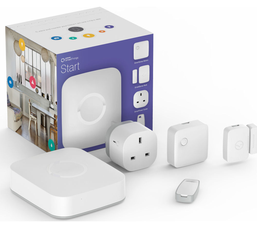 Samsung Smartthings Starter Kit 83 97 At Currys Pc World
